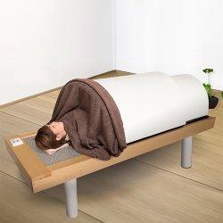 画像1: 【サウナキャンペーン】日本製・岩盤浴ベッドセット(岩盤浴ベッド+遠赤外線ドームサウナ)100V