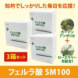 フェルラ酸SM100 1.5g×60包【3箱セット】