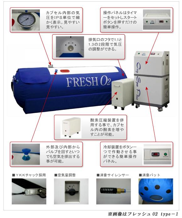 フレッシュO2 TypeII 新発売特別価格