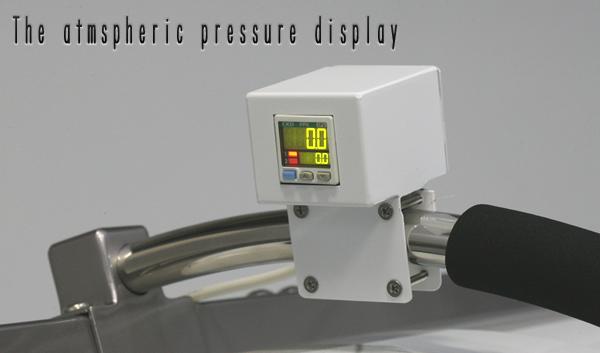 見やすい気圧計
