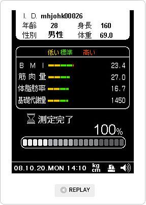 InBody230 LCD