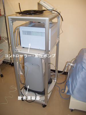 酸素濃縮器,コントローラー