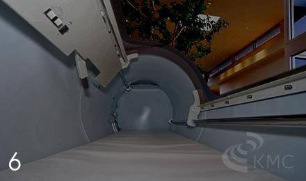 カプセル内部