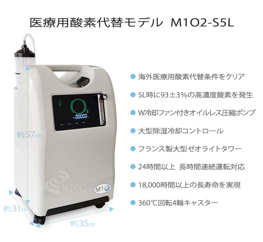 医療用酸素代替モデル M1O2-S10L
