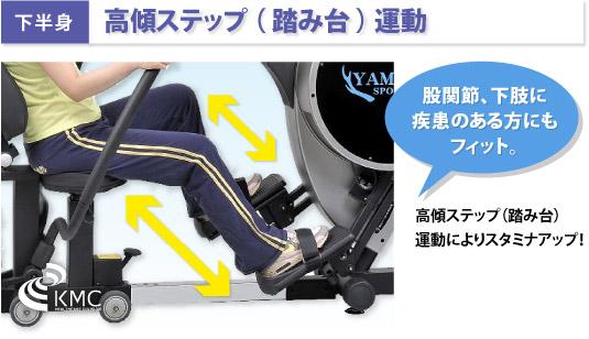 【下半身】高傾ステップ ( 踏み台 ) 運動